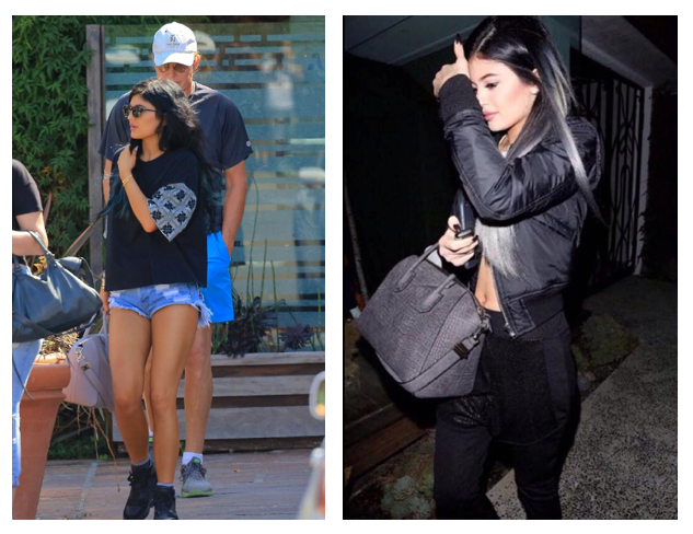 Kylie Jenner wears Bundy & Webster and Hot!MeSS