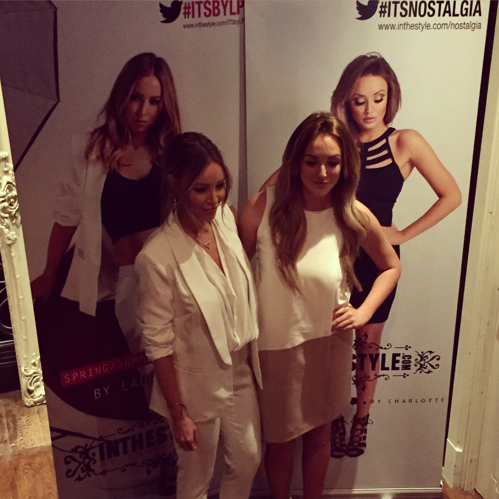 Charlotte Crosby and Lauren Pope launch their In The Style ranges