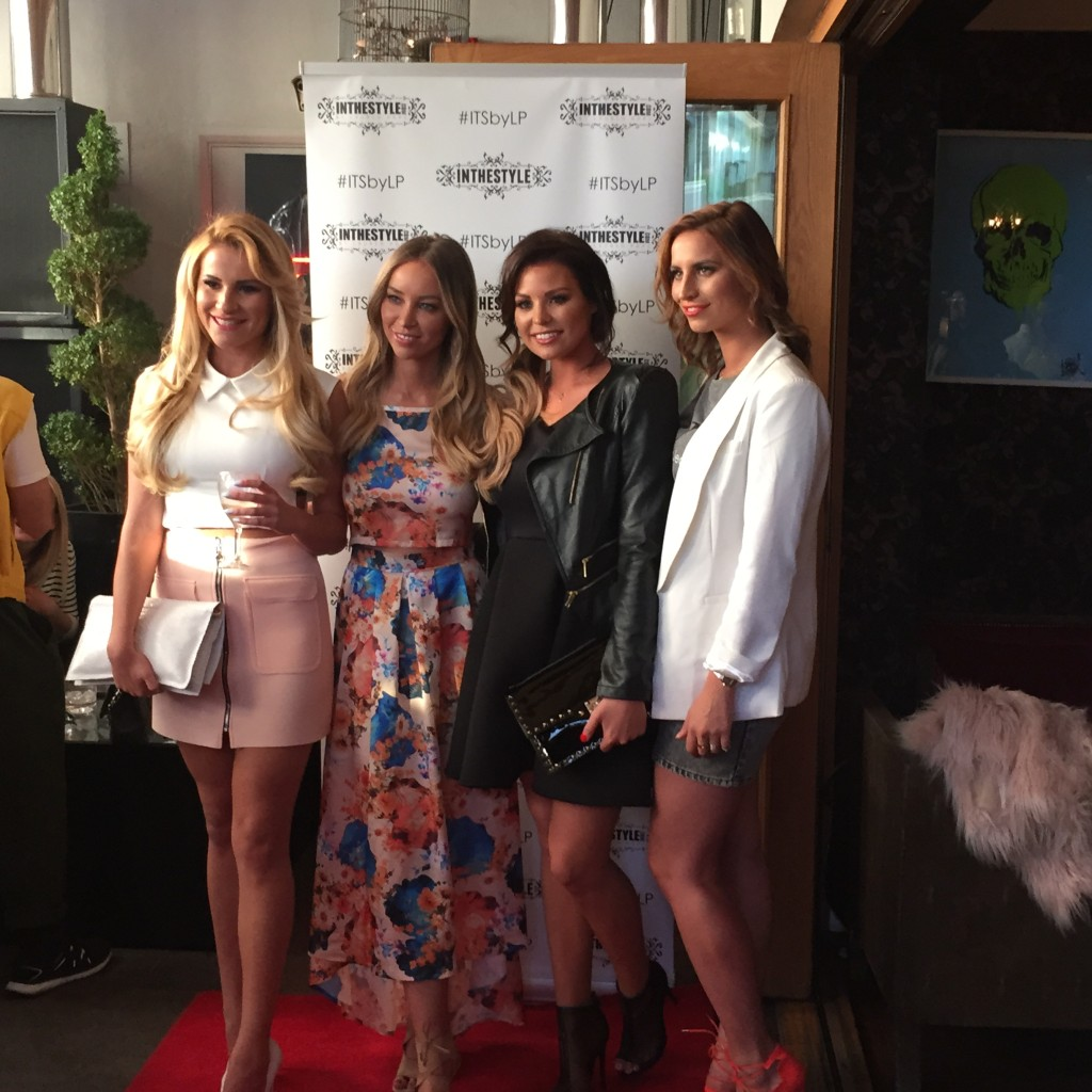 Georgia Kousoulou, Lauren Pope, Jess Wright and Ferne McCann - In The Style launch