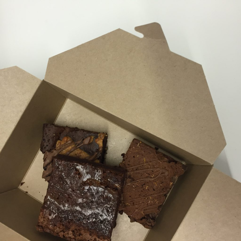 Fig and Sparrom gluten free brownies