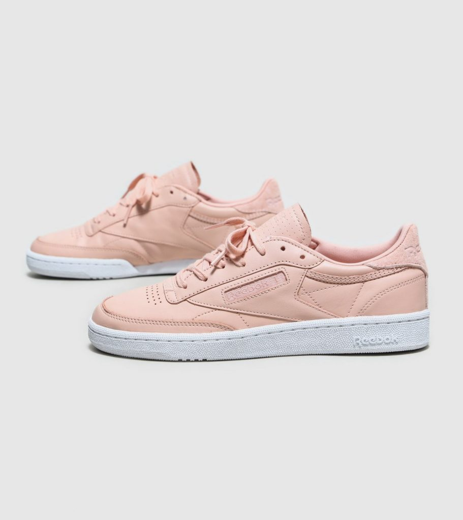 Reebok rose gold trainers