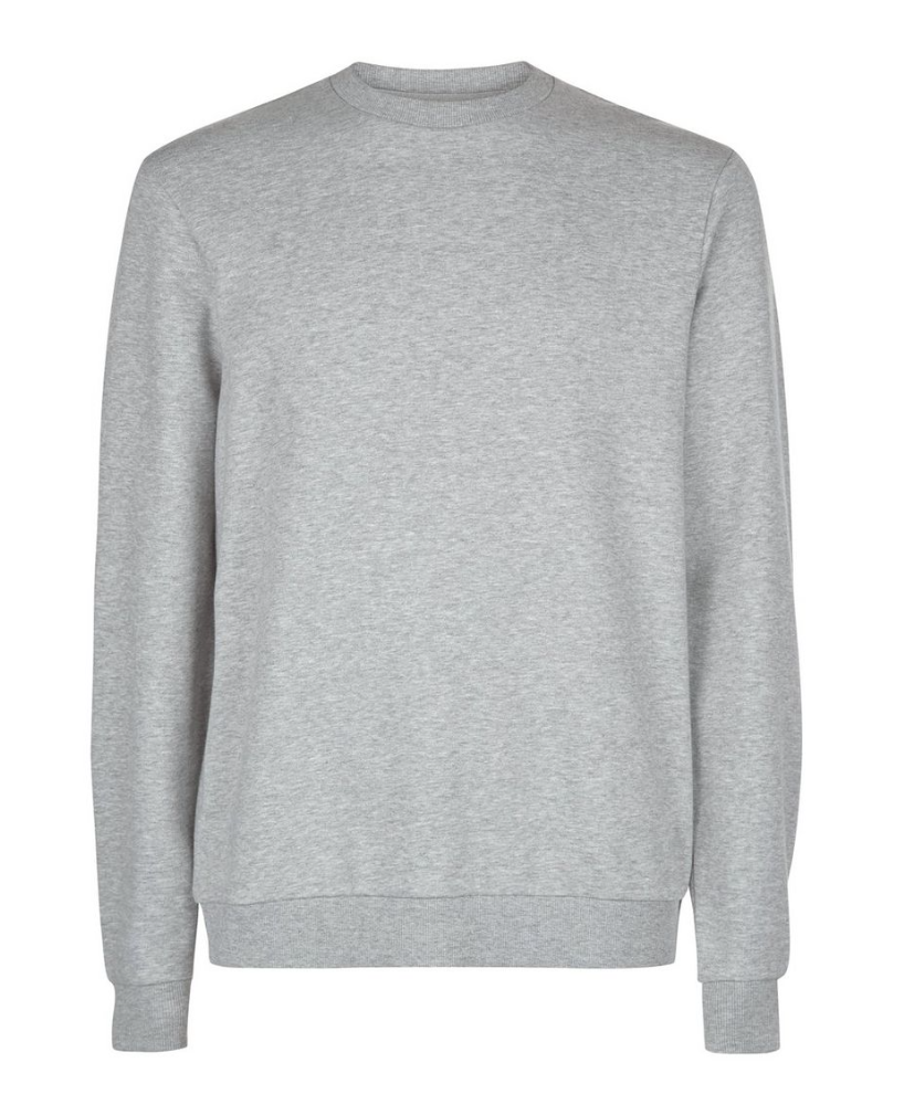 New Look at ASOS grey sweatshirt