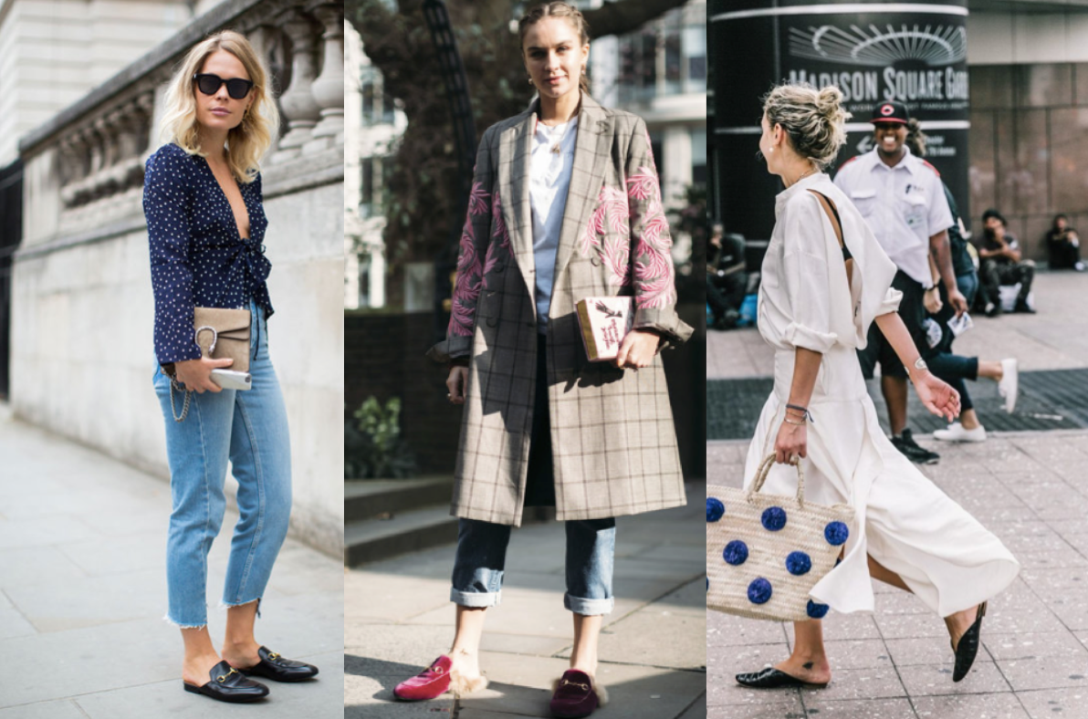 Fashion month street style: mules