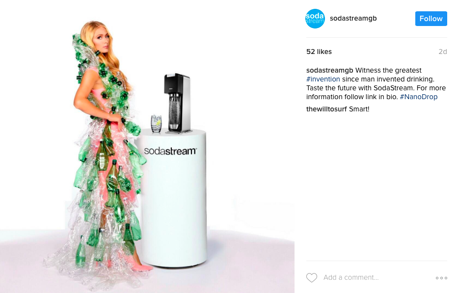 SodaStream April Fool's Day 2017