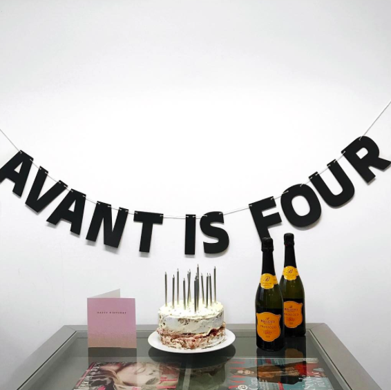 Avant PR fourth birthday