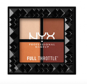 NYX orange eyeshadow palette