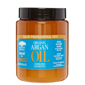 Argan oil hair masque