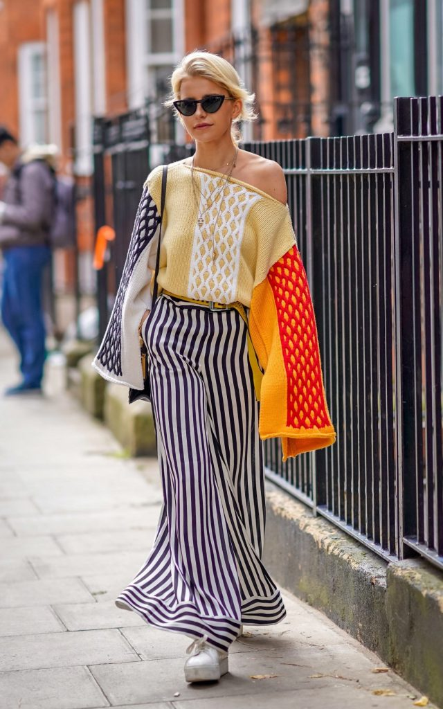 London Fashion Week street style September 2017