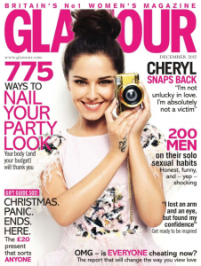Glamour magazine front cover