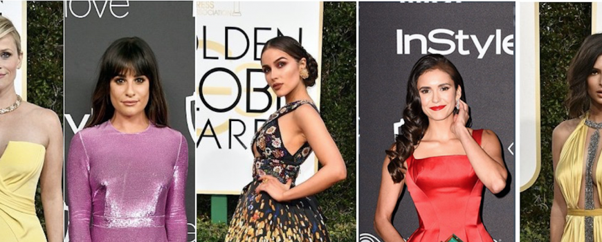 Golden Globes best dressed 2017