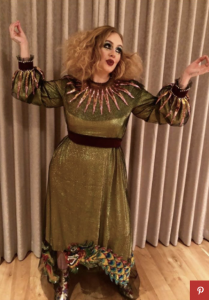 Adele as a court jester